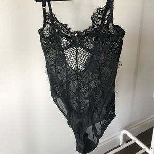 Gooseberry intimates lace bodysuit lingerie